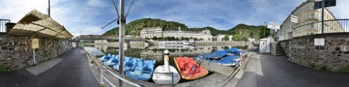 Kugelpanorama - Bad Ems - Am Ufer der Lahn Carl-Heyer-Promenade