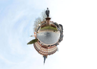 Little Planet Schloss Erbach