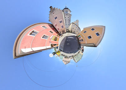 Little Planet Vilshofen - Am Stadtturm
