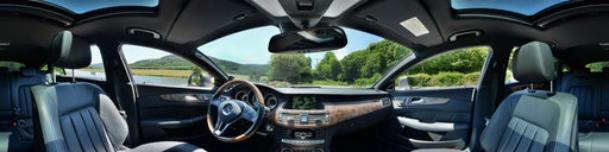 Mercedes CLS 350 BE Shooting Brake Innenansicht