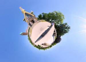Little Planet Darmstadt - Russische Kapelle
