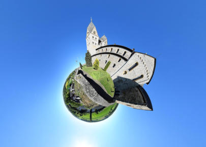 Little Planet Dietkirchen - Lubentiuskirche Südost