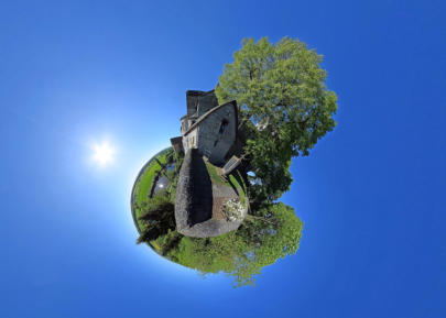 Little Planet Dietkirchen - Lubentiuskirche Nord